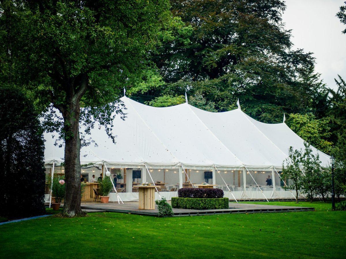 Exclusieve stretch- en sailcloth tenten voor uw event