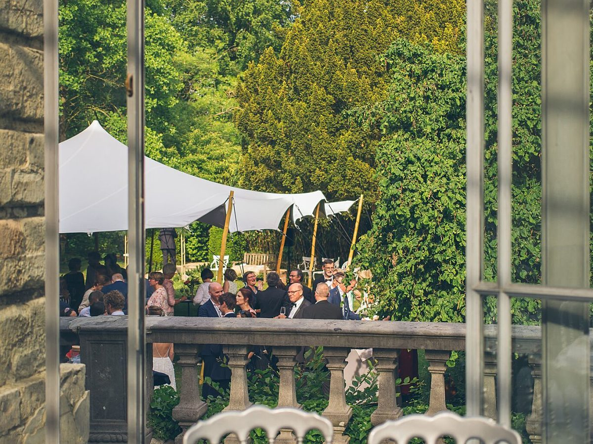 Ceremonie en receptie te Brussel